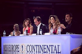 Miss Europe Continental beauty contest. Work by Miss Europe Continental. Photo #188644