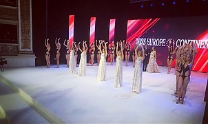 Miss Europe Continental beauty contest. Work by Miss Europe Continental. Photo #188647