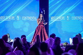 Miss Europe Continental beauty contest. Work by Miss Europe Continental. Photo #188653