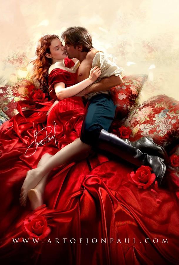 Romance Book Cover Illustration : Work by jon paul · modelisto