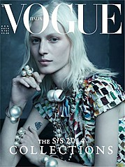 Vogue Italia magazine. Work by Vogue Italia. Photo #70589