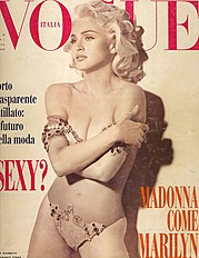Vogue Italia magazine. Work by Vogue Italia. Photo #70594