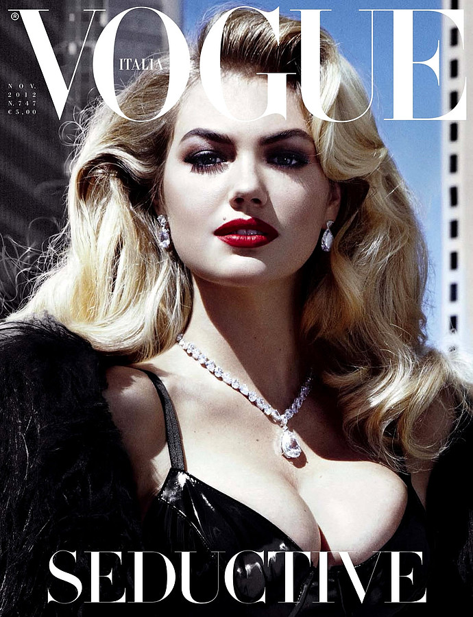 Vogue Italia magazine. Work by Vogue Italia. Photo #70595