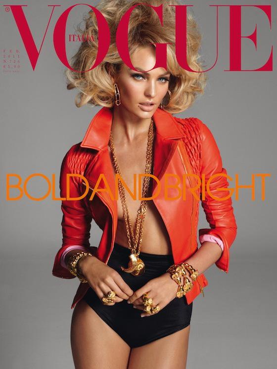 Vogue Italia magazine. Work by Vogue Italia. Photo #70599