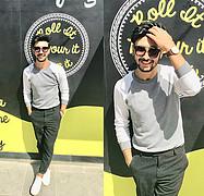 Abdel Monem Ghazy model. Photoshoot of model Abdel Monem Ghazy demonstrating Fashion Modeling.Fashion Modeling Photo #203416