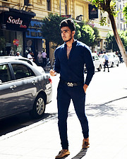 Abdel-Rhman Gad Professional fashion models on social media , got a lot of works with bershka & defacto football player & guitarist. He is a