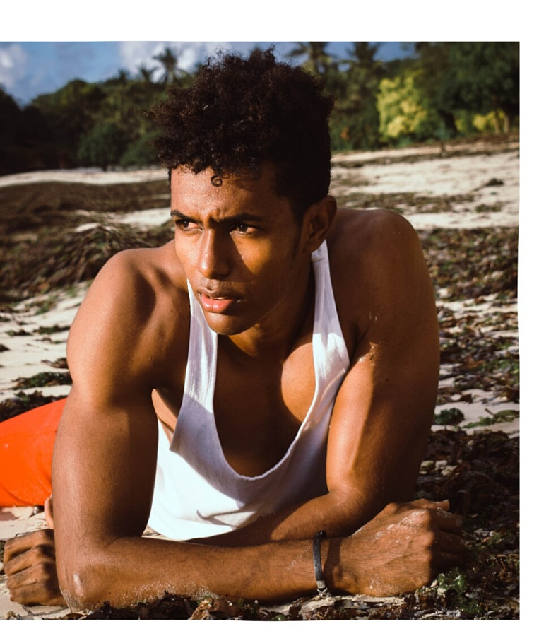 Abeid Farid model. Photoshoot of model Abeid Farid demonstrating Face Modeling.Face Modeling Photo #199748