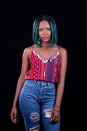 Abigael Yimbo model. Photoshoot of model Abigael Yimbo demonstrating Face Modeling.Face Modeling Photo #189410