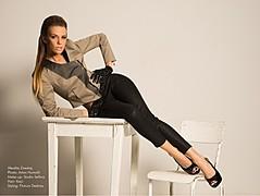 Aferdita Dreshaj (Afërdita Dreshaj) model & singer. Photoshoot of model Aferdita Dreshaj demonstrating Fashion Modeling.Fashion Modeling Photo #162867