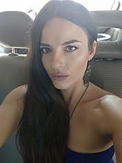 Aggeliki Nerantzaki model (μοντέλο). Photoshoot of model Aggeliki Nerantzaki demonstrating Face Modeling.Face Modeling Photo #186498