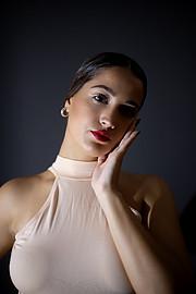 Aggeliki Tsianaka model (Αγγελική Τσιανάκα μοντέλο). Photoshoot of model Aggeliki Tsianaka demonstrating Face Modeling.Face Modeling Photo #213926