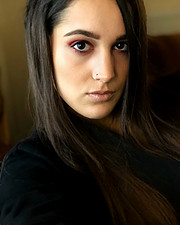 Aggeliki Tsianaka model (Αγγελική Τσιανάκα μοντέλο). Photoshoot of model Aggeliki Tsianaka demonstrating Face Modeling.Face Modeling Photo #226386