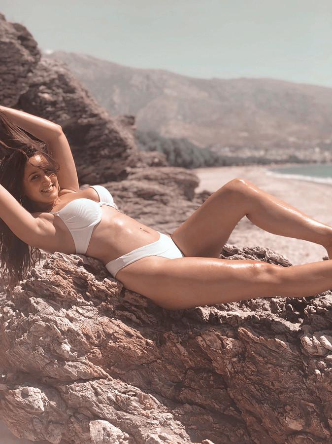 Aggeliki Tsianaka model (Αγγελική Τσιανάκα μοντέλο). Photoshoot of model Aggeliki Tsianaka demonstrating Body Modeling.Body Modeling Photo #225438