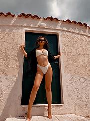 Aggeliki Tsianaka model (Αγγελική Τσιανάκα μοντέλο). Photoshoot of model Aggeliki Tsianaka demonstrating Body Modeling.Body Modeling Photo #225439