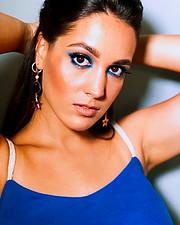 Aggeliki Tsianaka model (Αγγελική Τσιανάκα μοντέλο). Photoshoot of model Aggeliki Tsianaka demonstrating Face Modeling.Face Modeling Photo #225442