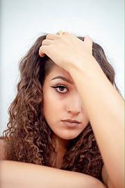 Aggeliki Tsianaka model (Αγγελική Τσιανάκα μοντέλο). Photoshoot of model Aggeliki Tsianaka demonstrating Face Modeling.Face Modeling Photo #230729