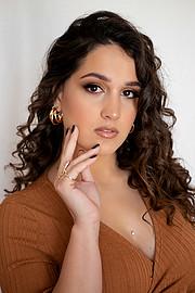 Aggeliki Tsianaka model (Αγγελική Τσιανάκα μοντέλο). Photoshoot of model Aggeliki Tsianaka demonstrating Face Modeling.Face Modeling Photo #230731