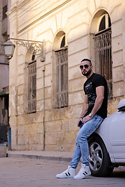 Ahmed Diab adriano. Photoshoot of model Ahmed Diab demonstrating Fashion Modeling.Fashion Modeling Photo #208213