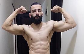 Ahmed Gaboop model. Photoshoot of model Ahmed Gaboop demonstrating Body Modeling.Body Modeling Photo #218883