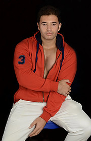 Ahmed Naggy model. Photoshoot of model Ahmed Naggy demonstrating Fashion Modeling.Fashion Modeling Photo #218766