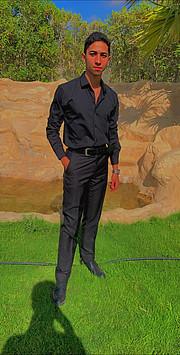 Ahmed Omar model. Photoshoot of model Ahmed Omar demonstrating Fashion Modeling.Fashion Modeling Photo #223731