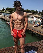 Ahmet Enes Aksu model. Photoshoot of model Ahmet Enes Aksu demonstrating Body Modeling.Body Modeling Photo #231397