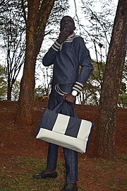 Ahol Benard model. Photoshoot of model Ahol Benard demonstrating Fashion Modeling.Fashion Modeling Photo #150713