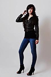 Aija Delrae model. Photoshoot of model Aija Delrae demonstrating Fashion Modeling.Fashion Modeling Photo #91833