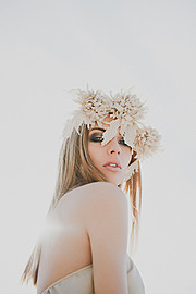 Aija Udentina makeup artist & hair stylist (Aija Ūdentiņa sminka & hársnyrtir). Work by makeup artist Aija Udentina demonstrating Beauty Makeup.Photo : Julia ProhorenkovaBeauty Makeup,Fashion Hair Styling Photo #136665