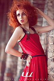 Aija Udentina makeup artist & hair stylist (Aija Ūdentiņa sminka & hársnyrtir). Work by makeup artist Aija Udentina demonstrating Fashion Makeup.designer katya katya shehurinaFashion Makeup Photo #136715