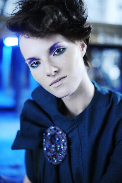 Aija Udentina makeup artist & hair stylist (Aija Ūdentiņa sminka & hársnyrtir). Work by makeup artist Aija Udentina demonstrating Beauty Makeup.Photo: Aiga RedmaneBeauty Makeup,Fashion Hair Styling Photo #136716