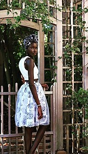 Ajoh Kuch model. Photoshoot of model Ajoh Kuch demonstrating Fashion Modeling.Fashion Modeling Photo #172465