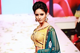 Akanksha Choudhary model. Photoshoot of model Akanksha Choudhary demonstrating Fashion Modeling.Fashion Modeling Photo #185137
