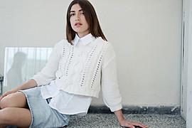 Albiona Kaza model (μοντέλο). Photoshoot of model Albiona Kaza demonstrating Fashion Modeling.Fashion Modeling Photo #159536