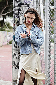 Albiona Kaza model (μοντέλο). Photoshoot of model Albiona Kaza demonstrating Fashion Modeling.Fashion Modeling Photo #159540