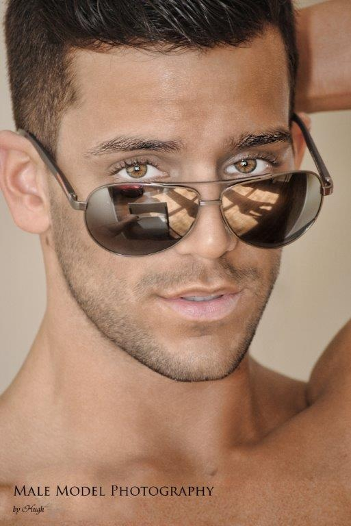Alec Hbic Leddy model & dj. Photoshoot of model Alec Hbic Leddy demonstrating Face Modeling.Face Modeling Photo #64599