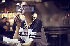 Aleksandra Klima model. Photoshoot of model Aleksandra Klima demonstrating Commercial Modeling.Commercial Modeling Photo #93553