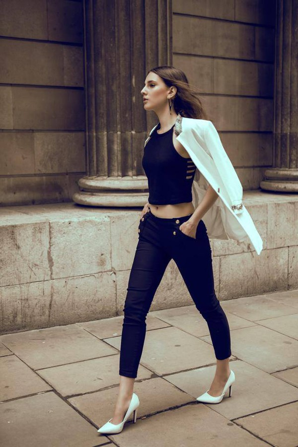 Aleksandra Klima model. Photoshoot of model Aleksandra Klima demonstrating Fashion Modeling.Photography: Sandra Gorska stylist: Sandra Blochmua: Masha RodriguesFashion Modeling Photo #93557