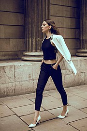 Aleksandra Klima is a photomodel based in London, UK. She has been doing photoshoots for the last three years and is available for fashion a