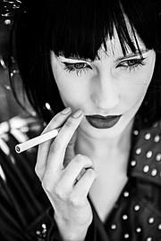 Aleksandra Klima model. Photoshoot of model Aleksandra Klima demonstrating Face Modeling.Face Modeling Photo #93570