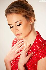 Aleksandra Pajonk model (modell). Photoshoot of model Aleksandra Pajonk demonstrating Face Modeling.Face Modeling Photo #161473