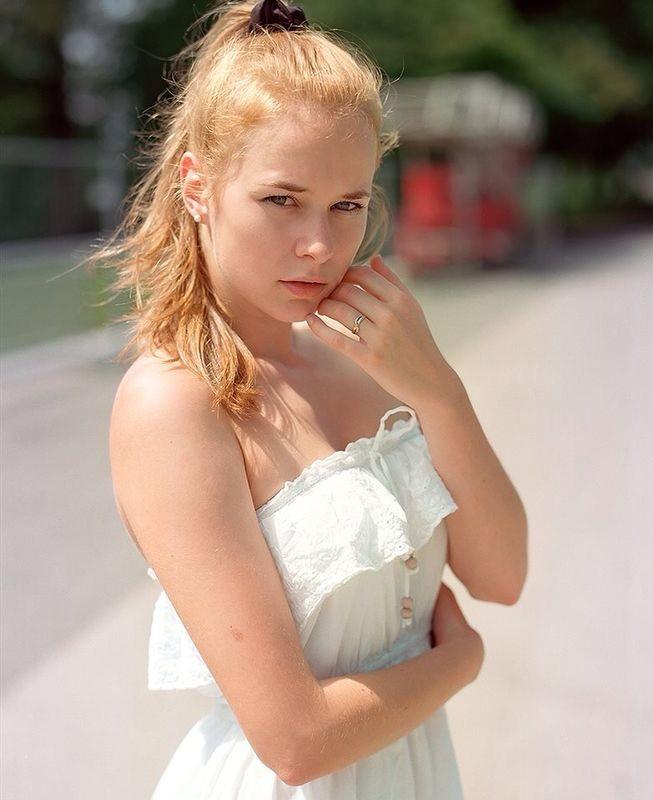 Aleksandra Pajonk model (modell). Photoshoot of model Aleksandra Pajonk demonstrating Face Modeling.Face Modeling Photo #161522