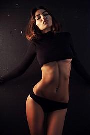 Alena Bogdana model (Алена Богданова модель). Photoshoot of model Alena Bogdana demonstrating Body Modeling.Body Modeling Photo #162968