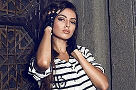 Alena Bogdana model (Алена Богданова модель). Photoshoot of model Alena Bogdana demonstrating Face Modeling.Face Modeling Photo #162973