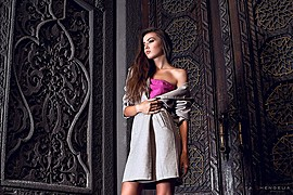Alena Bogdana model (Алена Богданова модель). Photoshoot of model Alena Bogdana demonstrating Fashion Modeling.Fashion Modeling Photo #162975