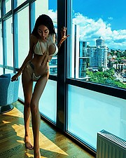 Alena Bogdana model (Алена Богданова модель). Photoshoot of model Alena Bogdana demonstrating Body Modeling.Body Modeling Photo #218452