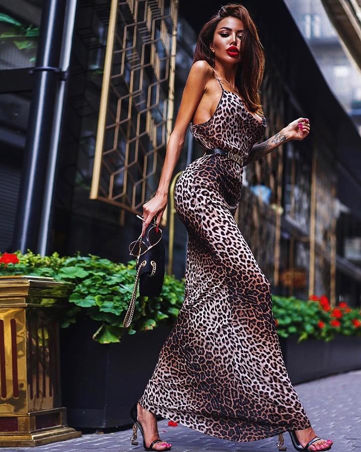 Alena Bogdana model (Алена Богданова модель). Photoshoot of model Alena Bogdana demonstrating Fashion Modeling.Evening DressFashion Modeling Photo #222351