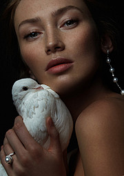 Alena Moiseeva makeup artist & hair stylist (визажист & парикмахер-модельер). Work by makeup artist Alena Moiseeva demonstrating Beauty Makeup.Beauty Makeup Photo #57713