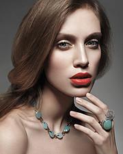 Alena Moiseeva makeup artist & hair stylist (визажист & парикмахер-модельер). Work by makeup artist Alena Moiseeva demonstrating Beauty Makeup.Beauty Makeup Photo #57714