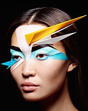 Alena Moiseeva makeup artist & hair stylist (визажист & парикмахер-модельер). Work by makeup artist Alena Moiseeva demonstrating Creative Makeup.Creative Makeup Photo #57735